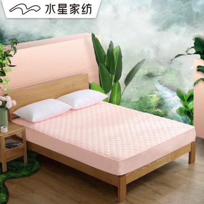 水星家紡 愛麗雅抗菌床護墊 床墊墊子床笠式防滑保護墊(薄款)
