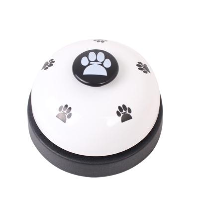 猫狗训练器宠物按铃狗按铃器狗狗智力玩具铃铛宠物铃铛手按益智白色