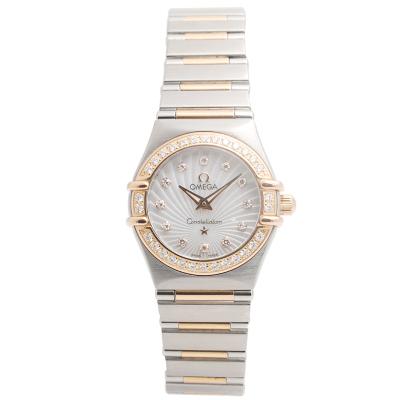 【二手95新】欧米茄OMEGA星座系列111.25.26.60.55.001女表石英奢侈品钟手表腕表
