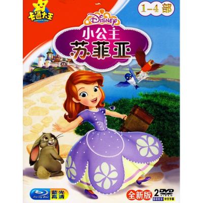 小公主蘇菲亞 正版高清兒童幼兒動漫卡通動畫片汽車載DVD光盤碟片