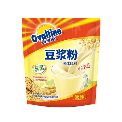 阿华田(Ovaltine)早餐速溶香浓 原味非转基因 速溶豆浆粉360g(内含12小包)