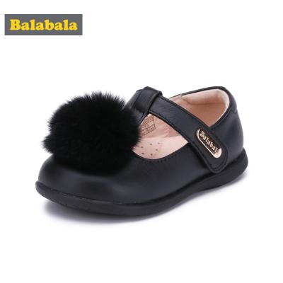巴拉巴拉童鞋女童单鞋公主鞋秋季小童宝宝儿童皮鞋牛皮鞋