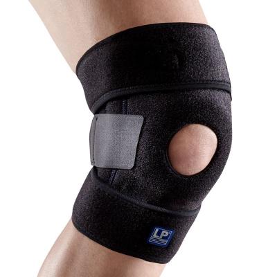 LP护膝透气弹簧支撑型护膝 登山舞蹈网排足篮羽毛球运动护膝733KM