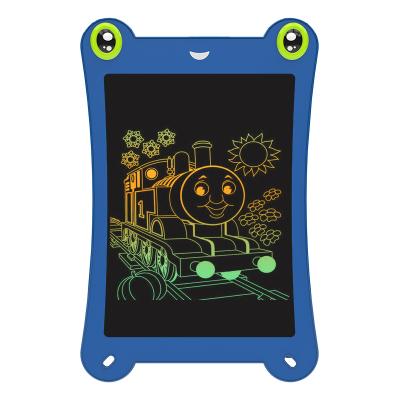 好写(howshow)8.5英寸儿童涂鸦绘画板 学生文具草稿板 儿童益智写字板 玩具画画板 青蛙款 H8Q 瀚海蓝