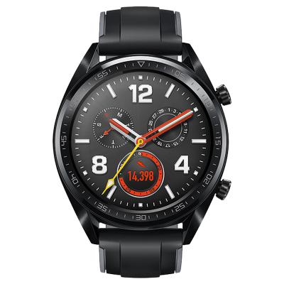 华为(HUAWEI)华为智能手表WATCH GT 运动款 黑色 2周续航+户外运动手表+智能手表+电话手表+蓝牙手表+50防水 华为手表