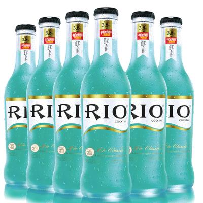锐澳 (RIO) 洋酒 鸡尾酒 预调酒果酒 宾治味 275ml*6瓶