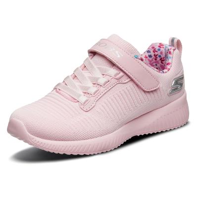 Skechers斯凱奇女童運動鞋 輕質透氣網布休閑鞋 85686L