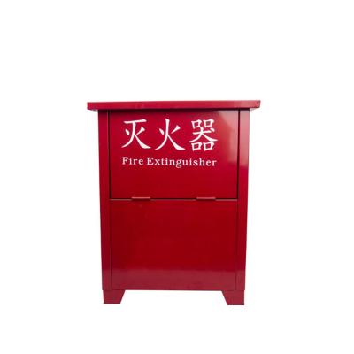 聯塑 干粉滅火器箱消防箱可放置8kg干粉滅火器2個(空箱)