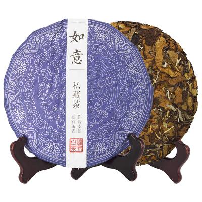 民之福【買二送一】茶葉福鼎白茶壽眉老白茶2010年350克