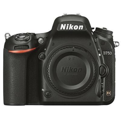 尼康(Nikon)D750 單反相機 全畫幅( 約2,432萬有效像素 可翻折屏 內置WiFi)