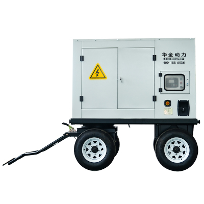 移動50kw柴油發電機組 濰柴道依茨50千瓦三相水冷發電機組四保護