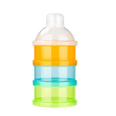 婴儿装奶粉盒便携式外出大容量宝宝分装储存罐密封奶粉格