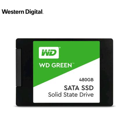 西部數據(WD)480GB SSD固態硬盤 SATA3.0接口 Green系列-SSD日常家用普及版|三年質保