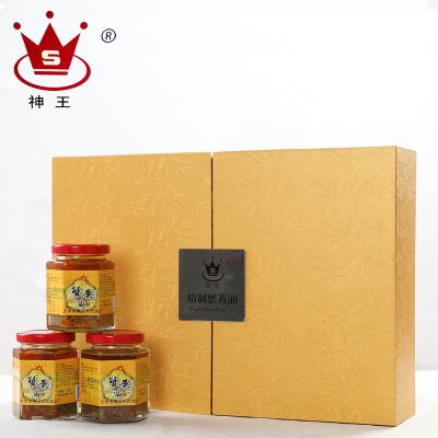 神王海鮮水產禮盒 蟹黃油160g*3瓶 風味人間蟹黃油大閘蟹 限鹽城市區銷售 華東