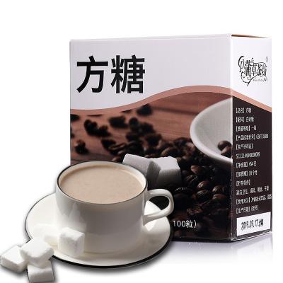 蒲草茶坊方糖块白糖颗粒咖啡伴侣奶茶调味品砂糖白糖