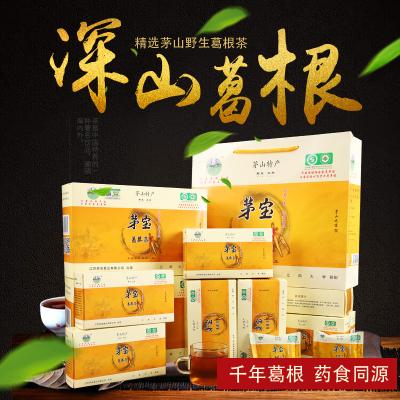 【中華特色】鎮江館 茅寶葛根茶正品現挖新鮮葛根片野生天然有機葛根塊禮盒 華東