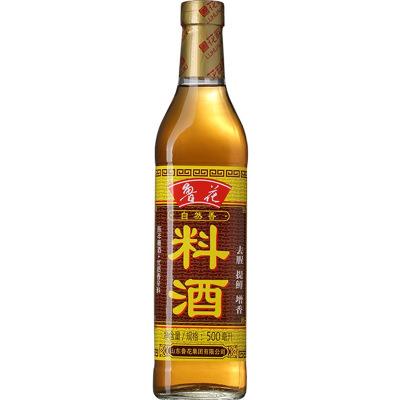 鲁花料酒500ml*3组合装 瓶装 调味品 烹饪黄酒