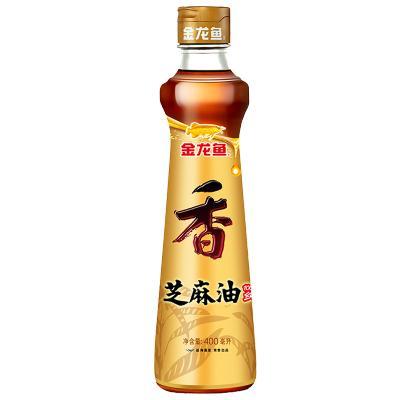 金龍魚芝麻油400ml/瓶