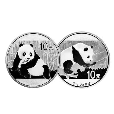 河南中錢 中國金幣 2015年銀貓+2016年銀貓 兩枚套裝