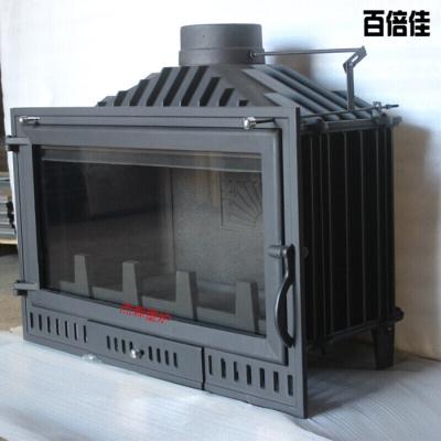新款創意壁爐嵌入式燃木真火壁爐鑄鐵燃木壁爐0.9米壁爐芯火爐壹德壹