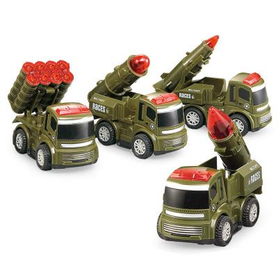 小小部隊 火箭兵部隊 火箭導彈發射車 移動導彈車 軍事模型 兒童玩具車套裝 FH-821