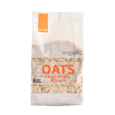 买二免一【保税直发】澳洲进口 Basik 传统燕麦 杂粮 350g/袋