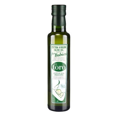 滔利ELTORO特級初榨橄欖油食用油兒童系列西班牙原瓶進口250ML