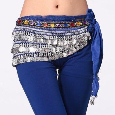 飞魅 印度舞蹈服装腰饰 肚皮舞腰链338币 彩钻338银币 腰 链 臀巾