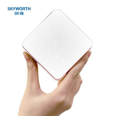 创维(Skyworth)P1 掌上投影仪 投影机家用(创维小湃投影 手机/迷你/便携/微型 触控按键 移动电源)
