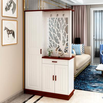 歐若凡雙面玄關柜隔斷柜客廳鏤空屏風現代簡約入戶鞋柜間廳柜廳柜玄關