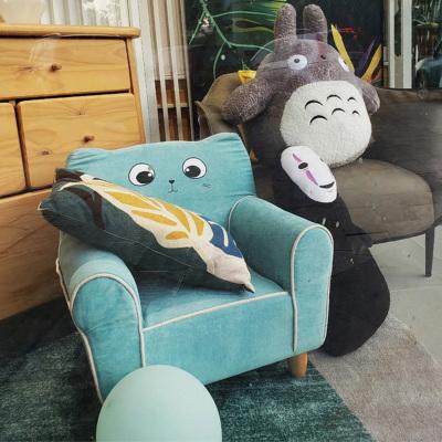 喜梦宝小户型简约现代时尚卡通儿童实木布艺沙发
