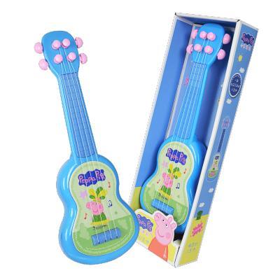 贝芬乐小猪佩奇正版尤克里里可弹奏初学者吉他儿童玩具礼物1-6岁