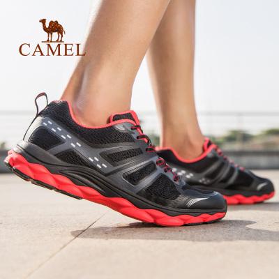 CAMEL骆驼户外运动鞋 2019春夏新款男款轻便防滑透气减震网面学生旅游鞋休闲运动跑步鞋
