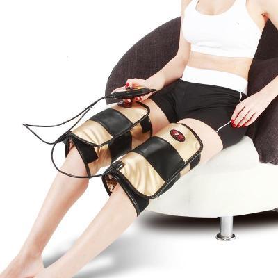 電熱震動按摩艾灸磁療膝關節寶 按摩器 支持熱敷老寒腿膝蓋儀護腿按摩儀風濕理療足部腿部關節炎 母親節