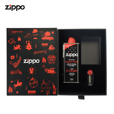 ZIPPO火機油 芝寶煤油 正版原裝ZIPPO火機油 火石 棉芯芝寶配件套裝