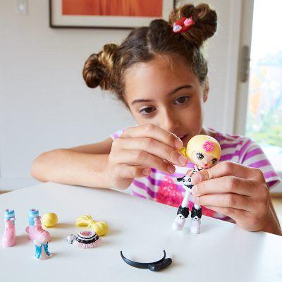 酷酷原宿Q版娃娃穿搭套裝 芭比Barbie動漫娃娃款式豐富 單件裝 - FCN19