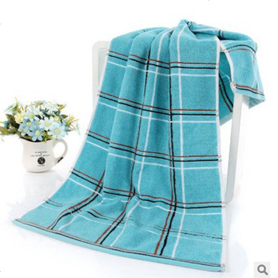 搭啵兔 純棉毛巾洗澡成人運動搓澡柔軟舒適深色男士加厚170克加長10040