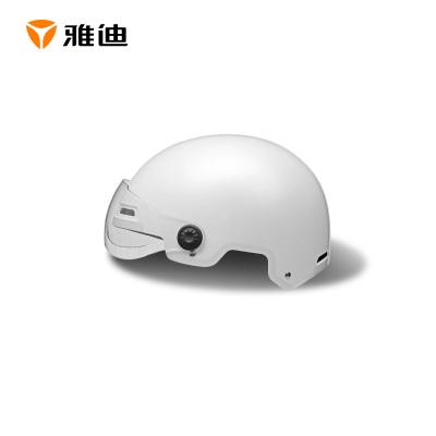 雅迪 半覆式3C頭盔 多孔流通式 四季通用 ABS高強度外殼 配頭圍調節器 男女適配