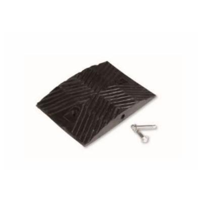 夜牌 Yepai 反光橡胶减速垫-黑,25cmx35cmx5cm