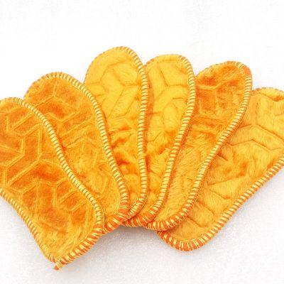 加绒儿童鞋垫儿童鞋垫 5双10双冬季新款保暖纯棉小孩子手工舒适透气吸汗除臭