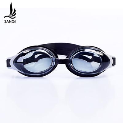 三奇近视泳镜男女防水防雾带度数高清游泳眼镜可拆卸舒适清晰时尚