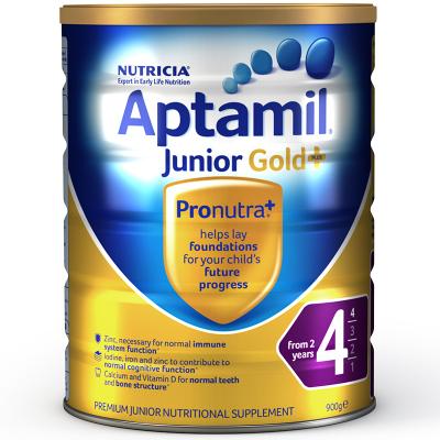 【亲源配方】海外Aptamil 澳洲爱他美金装 婴幼儿配方奶粉 4段(24月以上)900g/罐 新西兰原装进口