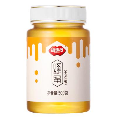 福事多蜂蜜500g百花蜜 纯农家自然产天然多花蜜野生蜜源蜂蜜 滋补蜂蜜 自制蜂蜜柚子茶果茶原料