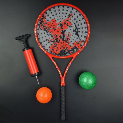 朗寧168孔太極柔力球拍套裝正品全碳素初學者多孔拍面多功能拍套
