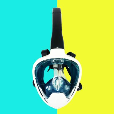 2019新款DOVOD浮潛游泳全面鏡學游泳神器戶外游泳潛水裝備成人兒童游泳全面罩 送泳鏡!!!庫存清貨產品