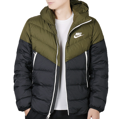 耐克(NIKE)冬季男子羽絨服AS M NSW DWN FILL WR JKT HD 928834-395