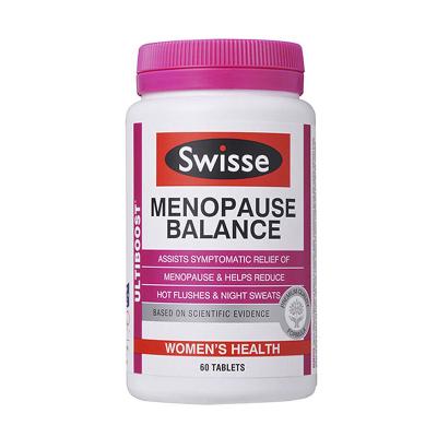 Swisse女性更年期平衡片大豆異黃酮平衡片60片劑澳洲進口【效期至2020-04-30】