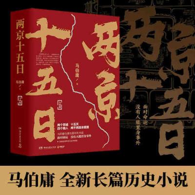 兩京十五日(全兩冊) 湖南文藝出版社 馬伯庸 著,博集天卷 出品新華書店正版圖書