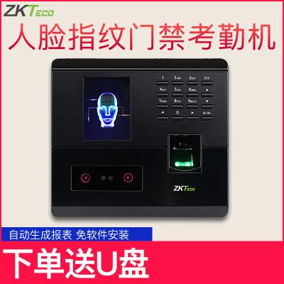 中控智慧(ZKTeco) UF200考勤機指紋人臉混合識別打卡機U盤下載自動報表