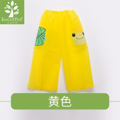 兒童腿套防水耐臟套腿卡通雨衣雨天寶寶雨披腿套防臟雨褲雨鞋套
